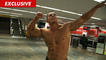 'Big Brother' Star -- Topless at the Airport