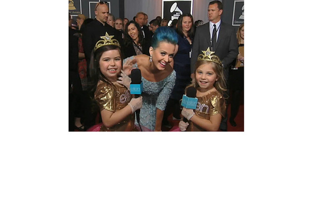Sophia Grace and Rosie Hit the Grammy Red Carpet for Ellen!