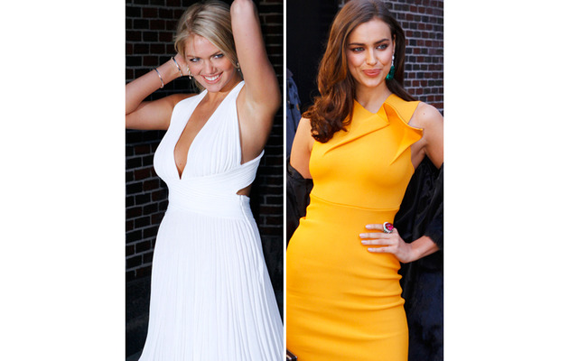 Who Looks Hotter: Kate Upton or Irina Shayk?