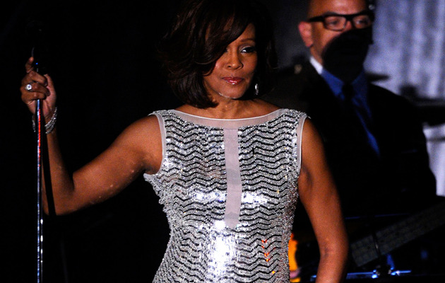 Family & Stars Mourn Whitney Houston at Singer's Funeral