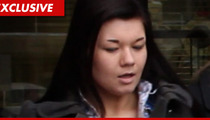 'Teen Mom' Amber Portwood -- Allegedly Evicted for Conning the Government