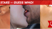 Kobe Bryant and Vanessa --  Reconciling ... With Their Kissing Mouths