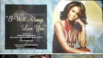 Whitney Houston Funeral -- Programs! Getcha Programs Here!