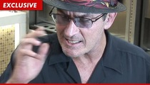 Charlie Sheen -- I Didn't Fall Off the Wagon ... I'm Just a Lightweight