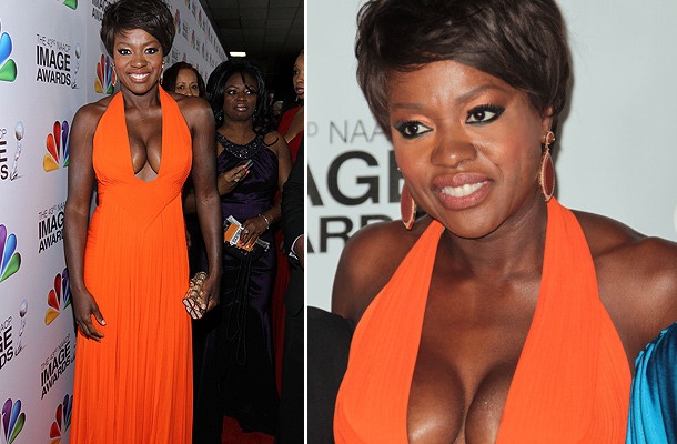 Viola Davis' Eye-Popping NAACP Image Awards Dress