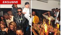 Rapper Fabolous Drops $45,000 on 120 BOTTLES Inside Atlanta Nightclub
