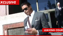 Terrence Howard Divorce -- You Must Pay $50,000 to Your Sworn ENEMY