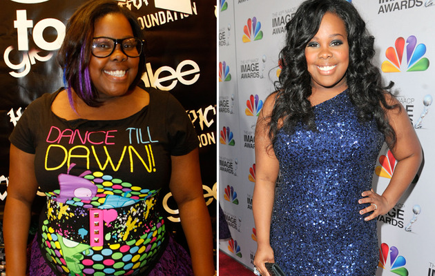 """Glee"" Star Amber Riley Drops Two Dress Sizes!"