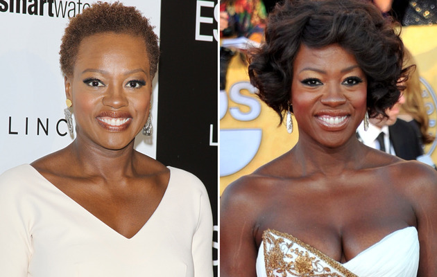 Viola Davis Shows Off Natural Hair at Essence Event