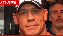 WWE Star John Cena -- I'm Still Kicking Off the Daytona 500!