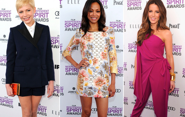Sexy Styles Reign at Independent Spirit Awards