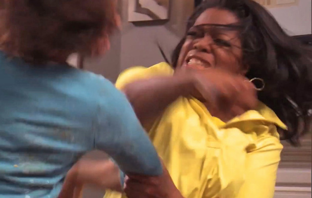 "Oprah Packs a Punch In ""Book Club Fight Club"" Video"