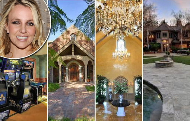 Britney Spears' Pop Princess Palace on the Market for $10 Million!