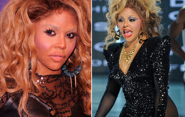Lil Kim Unrecognizable At BET Event in NYC