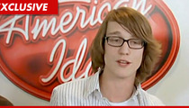 'American Idol' Castoff Scott Dangerfield -- I Got NO CLASS ... But That's About to Change