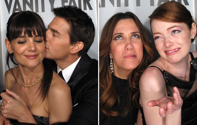 Hot Hookups Inside the Vanity Fair Photo Booth!