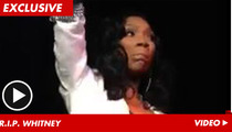 Brandy -- Too Emotional to Sing Whitney Houston Songs