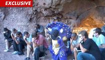 Colorado Rockies Mascot -- Strikes 'In Your FACE' Pose for Tim Tebow ... and Creationists!!