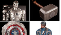 'Avengers' Memorabilia -- Captain America's Shield, Thor's Hammer ... Up for Auction!!!
