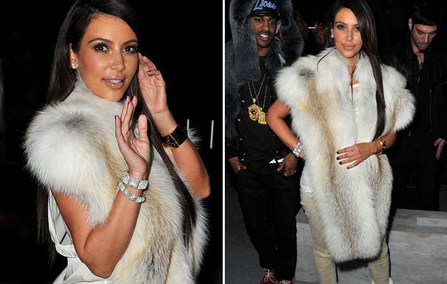Kim Kardashian Commits Two Fashion Crimes In Paris