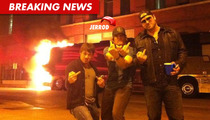 Country Star Jerrod Niemann -- Flips Out After Tour Bus Explodes