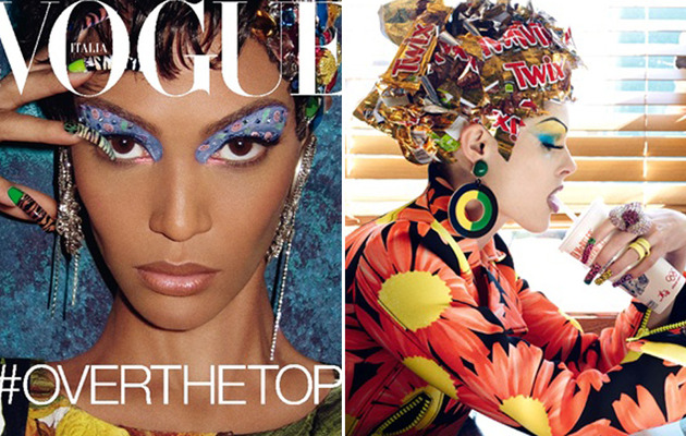 "Vogue Italia's ""Haute Mess"" Spread: A Little Bit Racist?"