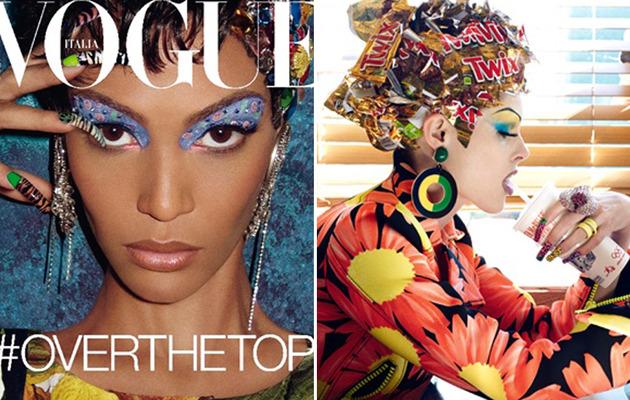 "Vogue Italia's ""Haute Mess"" Spread: A Little Bit Racist?"