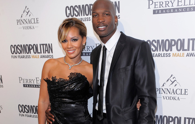 "Chad Ochocinco and ""Basketball Wives"" Evelyn Lozada to Tie the Knot on VH1"
