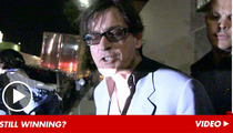 Charlie Sheen -- HAMMERED After Guns N' Roses Concert