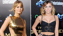 Jennifer Lawrence vs. Miley Cyrus -- Who'd You Rather?