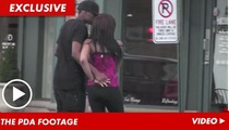 Bobbi Kristina Brown -- Heavy PDA & KISSING with 'Adopted' Brother Nick Gordon