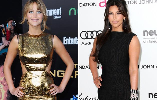 "Jennifer Lawrence Compares ""Hunger Games"" to Kim Kardashian's Divorce"