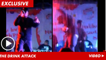 Singer Jeremih -- PELTED with Drinks for Lip-Syncing at Concert [VIDEO]