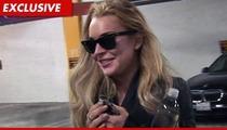 Lindsay Lohan -- Putting Herself on House Arrest Until Probation Is Over