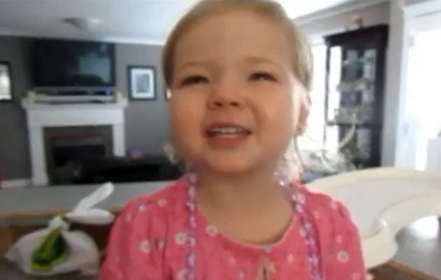 Viral Video: Adorable 2-Year-Old Sings Adele
