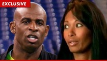 Deion Sanders to Pilar: You Can't Sue Me ... You ARE a 'Gold Diggin' H*e'