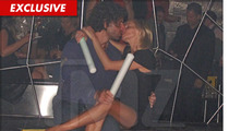 Camille Grammer -- Sucking Face in a Vegas Nightclub