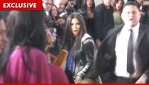 Kim Kardashian -- Pressing Charges Against Flour Tosser