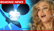 Madonna SLAMMED By Deadmau5 -- Stop ENCOURAGING Drug Use!