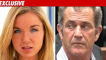 Mel Gibson's Alleged Mistress -- He's NOT A Racist