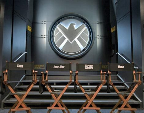 First Photo from 'The Avengers' Set Released