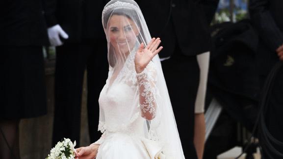 A Closer Look: Kate Middleton's Alexander McQueen Gown