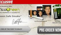 Charlie Sheen -- Getting Into the E-Cigarette Biz