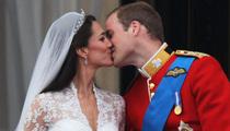 The Royal Wedding -- A Tongueless Affair