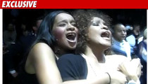 Whitney Houston -- A Real Armful at Prince Concert