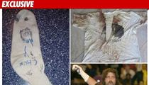 Mick Foley -- Surrendering MR. SOCKO ... For Charity