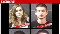 '16 & Preggo' Couple -- SO MANY ARRESTS!