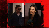 Brad Pitt -- Hanging with Jen Aniston's BFF??
