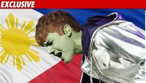 Justin Bieber -- VOMITING in the Philippines