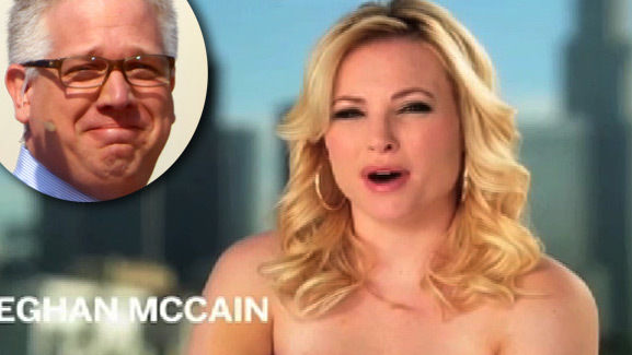 Meghan McCain Tells Glenn Beck to 'Shut Up' About Her Naked PSA